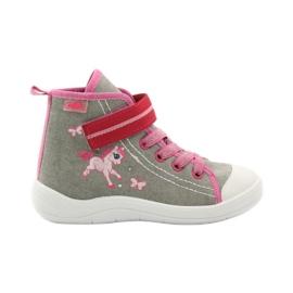 Papuče tenisice Befado konik 268x ružičasta siva bijela