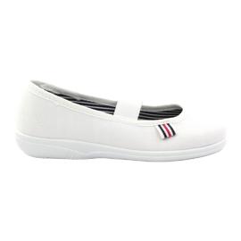 Djevojačke papuče Češka Befado 274X013 bijela