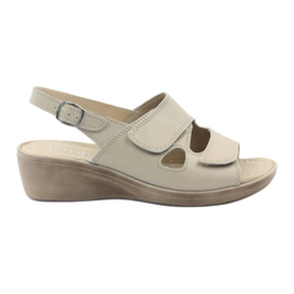Smeđ Gregors 592 bež ženske sandale