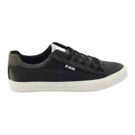 Fekete Big Star cipők edzői 174004 cz