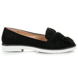 Vices Suede obuća s glitter ukrasom crna