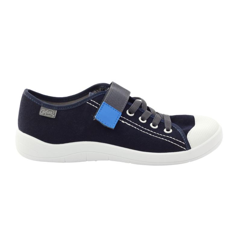 Velcro tenisice Befado 251Y047 mornarsko plave boje mornarsko plava plava siva