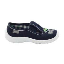 Papuče za dječje cipele Befado 975x169 mornarsko plava zelena siva
