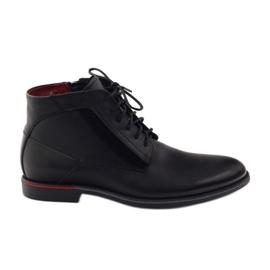 Crna Čizme za gležnjeve Pilpol PC6007 crne