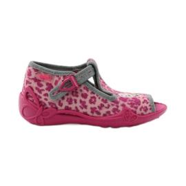 Panther papuče Befado 213P100 kitty rose ružičasta