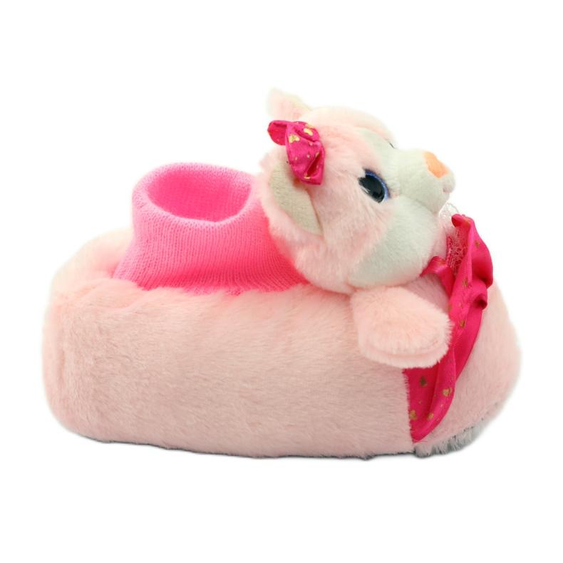 American Club Topli papuče kućnih ljubimaca američkih mačića ružičasta