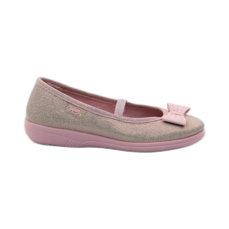 Papuče ružičasti luk Befado 346x033 ružičasta