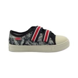 Papuče Tenisice Graffiti Velcro Befado 430x crvena siva crno bijela