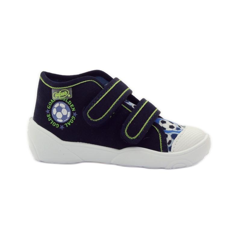 Befado dječje cipele tenisice papuče 212P052 mornarsko plava plava bijela
