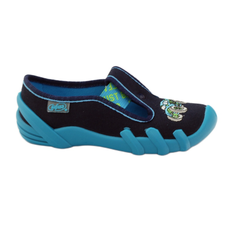 Papuče za dječje cipele Befado 290x161 mornarsko plava plava zelena