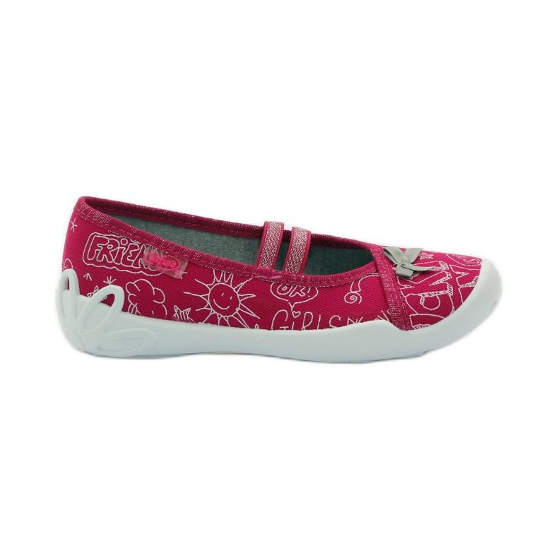Befado dječje obuće balerinke papuče 116x236 ružičasta bijela