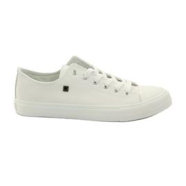 Fehér Cipők cipők a Big Star cipőfűzők számára