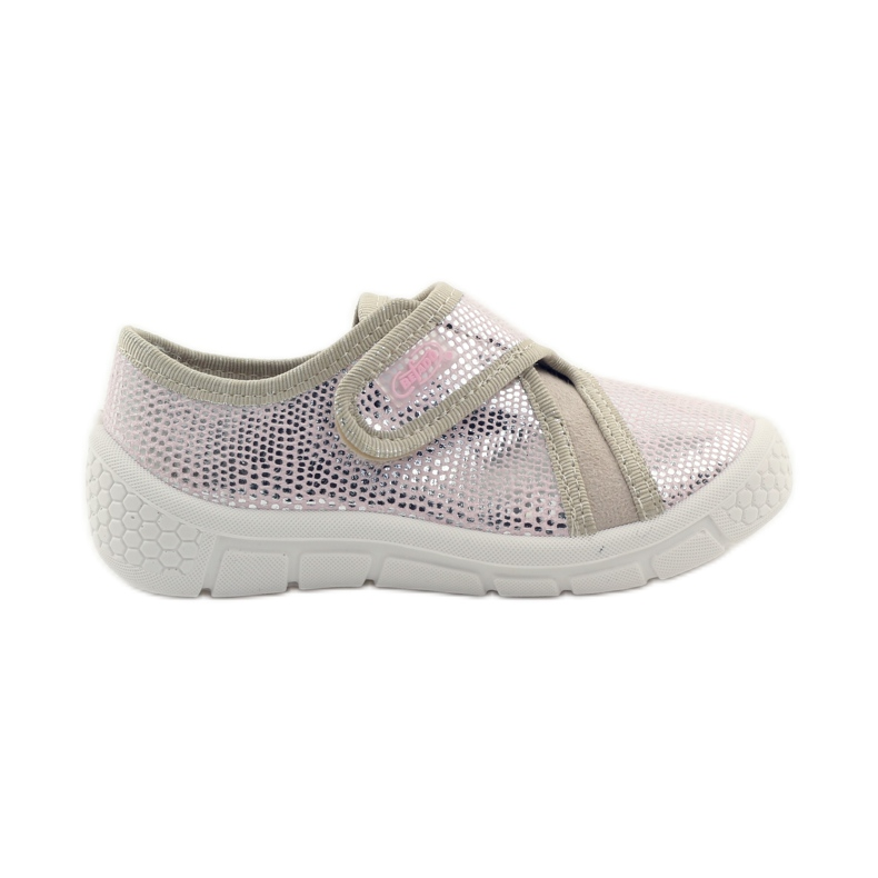 Papuče Lagani SOFT-B umetak Befado ružičasta siva smeđa