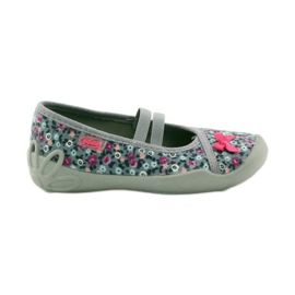 Dječje papuče Befado 116x227 ružičasta siva