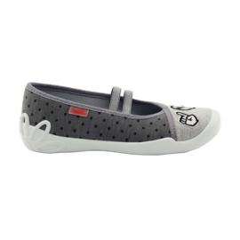 Befado dječje cipele papuče balerinke 116y235 siva