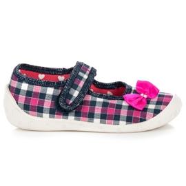 Reweks Kucane cipele za dom ružičasta