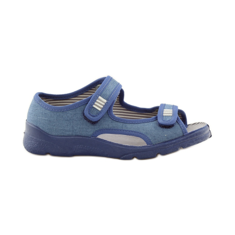 Papuče sandale Befado 113y010 plave boje plava