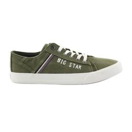 Big Star zöld Nagy sztár cipők 174315 khaki cipők