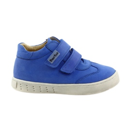 Dječačke čizme za Velcro Bartuś plava