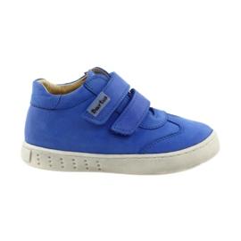 Plava Dječačke čizme za Velcro Bartuś