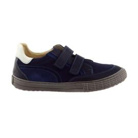 Mornarica Dječačke cipele, čičak Bartuś, mornarsko plava
