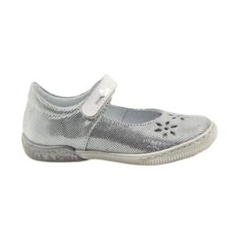 Szürke Ballerinas lányok cipő Ren But 3285