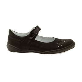 Fekete Ballerinas lányok cipő Ren But 4351