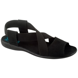 Fekete Adanex 17498 női cipő