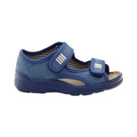 Dječačke sandale Befado 113x010 mornarsko plava plava
