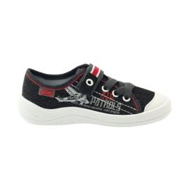 Befado dječje cipele tenisice papuče 251x091 crvena siva bijela