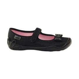 Befado dječje cipele papuče balerinke 114y240 crno siva