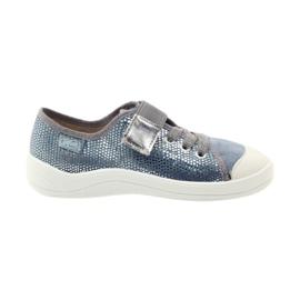 Papuče tenisice Befado 251y088 siva plava bijela