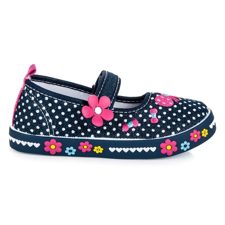 American Club Tamno plave cipele s čičak plava