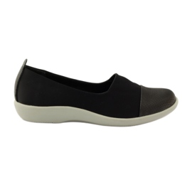 Crna Vrlo udobne cipele Aloeloe slipony
