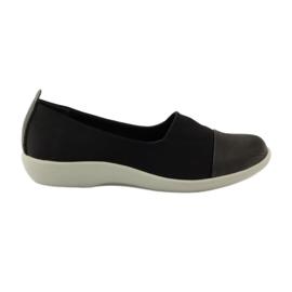 Vrlo udobne cipele Aloeloe slipony crna