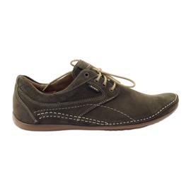 Zöld Riko férfi alkalmi cipő 844