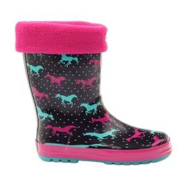 American Club Čarape za čizme Wellington + umetnite američke konje