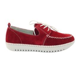 Creepersy kožne cipele Filippo 020 crvena