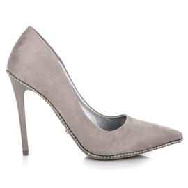 Seastar siva Trendi sivo visoke potpetice