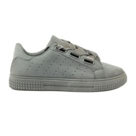 McKey Creepersy cipele vezane sivom vrpcom siva