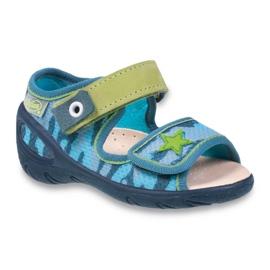 Befado pu 433P023 dječje cipele zelena plava