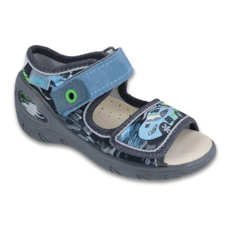 Dječje cipele Befado pu 433P028 siva plava