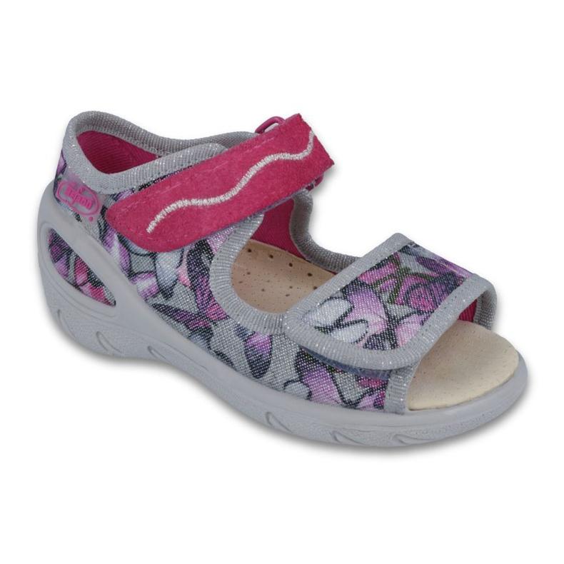 Befado pu 433P029 dječja obuća ljubičasta siva