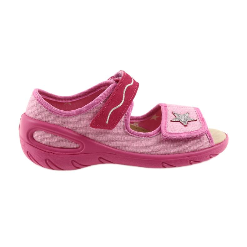 Rózsaszín Befado gyermekcipő pu 433X032