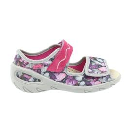 Befado dječje cipele pu 433X029 siva ljubičasta