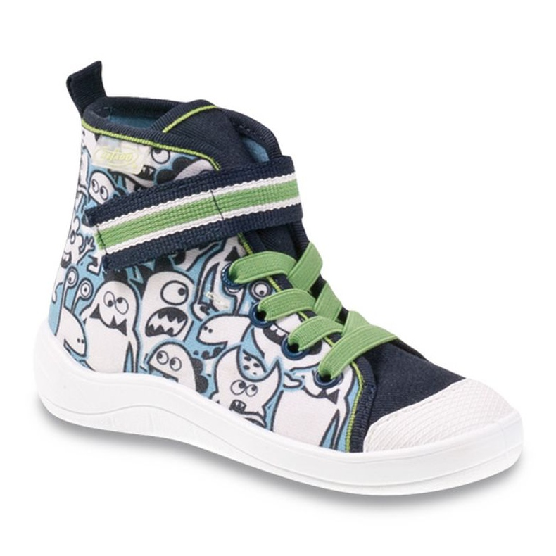 Befado dječja cipela uzorak za bojanje 268Y065 zelena mornarsko plava