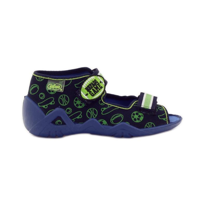 Befado zelena dječja obuća 250P070 mornarsko plava