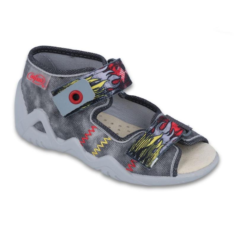 Befado žute dječje cipele 250P073 siva