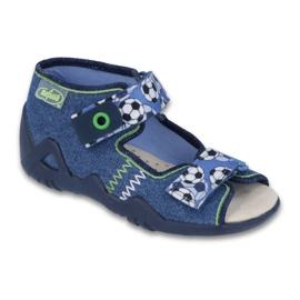 Befado žute dječje cipele 250P075 mornarsko plava
