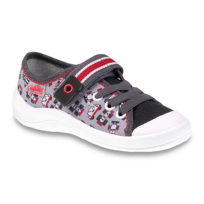 Dječje cipele Befado 251X083 crvena siva
